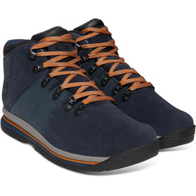 Timberland GT Rally Mid Leather WP Shoes Men Navy Suede